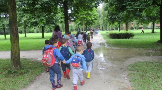 Gita al parco nord - Scuola dell'Infanzia Rodari