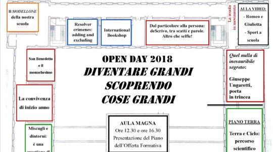 Scuola secondaria di primo grado- Programma e mostre Open day