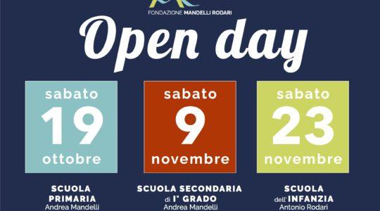 OPEN DAY 2019: Conoscere è aprire nuovi orizzonti