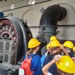 visita alla centrale idroelettrica classi quinte