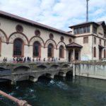 la centrale idroelettrica di Vigevano