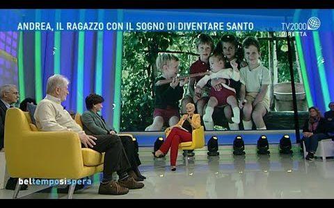 Andrea Mandelli, il ragazzo con il sogno di diventare santo