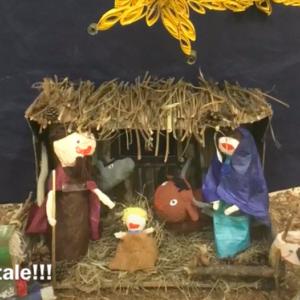 Buon Natale dai bambini della Scuola dell'Infanzia A. Rodari
