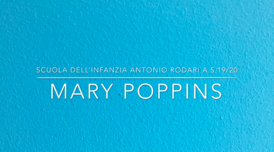 Le avventure di Mary Poppins continuano anche a casa!