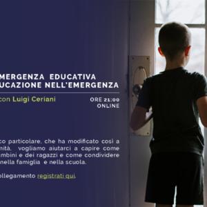 Dall'emergenza educativa all'educazione nell'emergenza