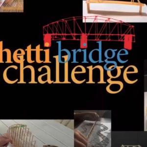 Spaghetti bridge challenge: costruire ponti nel salotto di casa