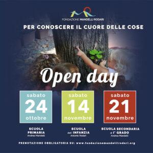 Open Day 2020. Per conoscere il cuore delle cose