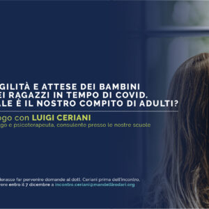 Dialogo per i genitori con il Dott. Luigi Ceriani